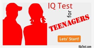 IQ Test for Teenagers