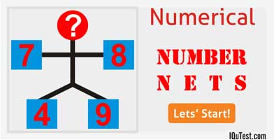 IQ Test Numerical Number Nets