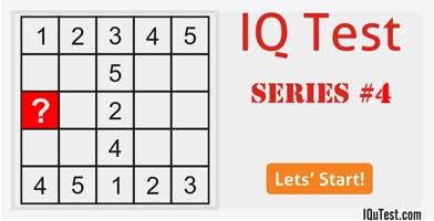 IQ Test Series #4