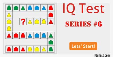 IQ Test Series #6
