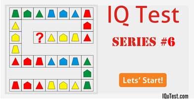 IQ Test Series #6