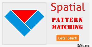 IQ Test Spatial Pattern Matching